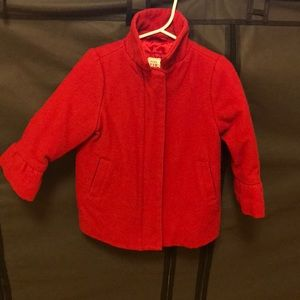 Other - GAP red pea coat
